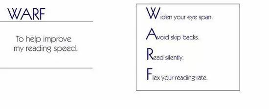 """英文阅读速度太慢 """"WARF""""策略帮孩子攻克障碍"""