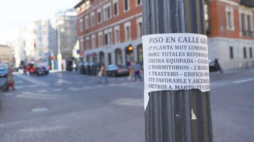 西班牙住宅租赁市场火爆,民众需求强烈。(图片来源:《欧洲时报》实习记者 孔庆锐 摄)