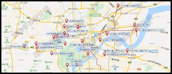 大盘独家:快来看看杭州最全24所校服重磅国际高中的育才图片学校图片