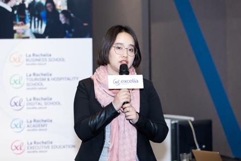 图注:Excelia集团中国办公室负责人林芳女士
