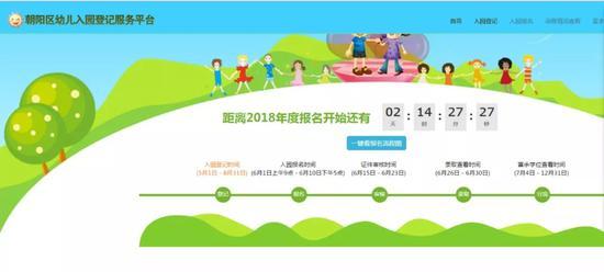 朝阳区幼儿园等级服务系统