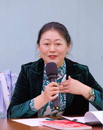 北京大學出版社編審、北大培文閱讀研究院執行院長高秀芹女士