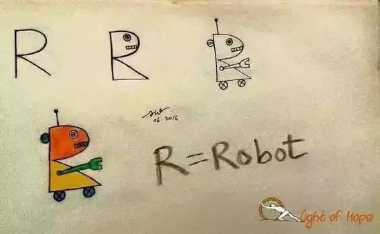 R是机器人