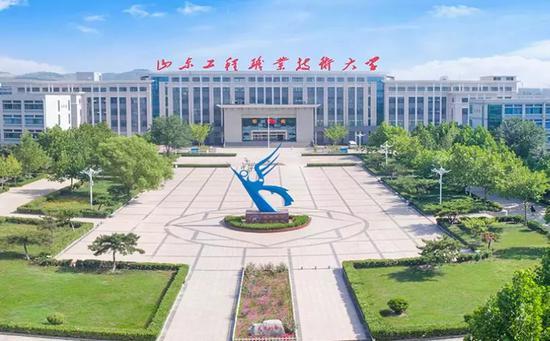 山东工程职业技术大学校园。图源校官网
