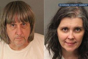 美国父母囚禁13名儿女:铁链锁床上 7人已成年
