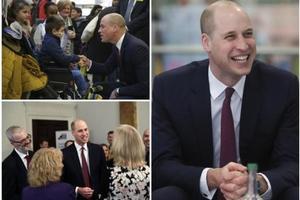 威廉王子出席活动 新发型成外界焦点