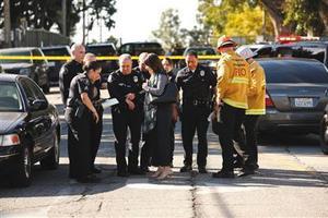 12岁女孩疑酿洛杉矶校园枪击案 5人受伤