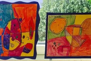 美国老师真牛 只用一节美术课解决了这么多知识