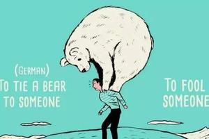 十一幅插画搞定这些你看不懂的英语习惯用语