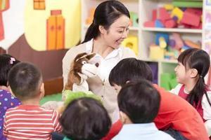 幼师缺口300万 6所重点师范院校每年培养600人