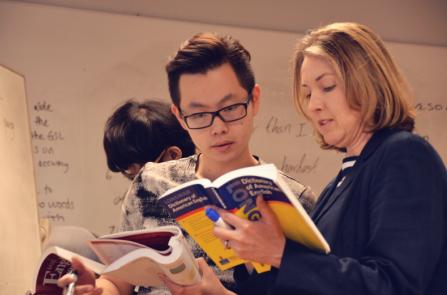 WIA-美国威斯康星国际学院学生和老师