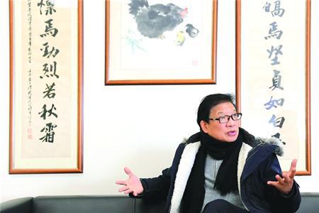 黄玉峰校长 本版图片/晨报记者 任国强