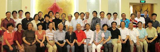 上海师范大学校友聚会合影