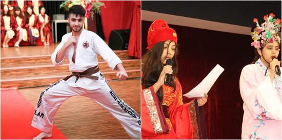 国际学生积极参与学校活动