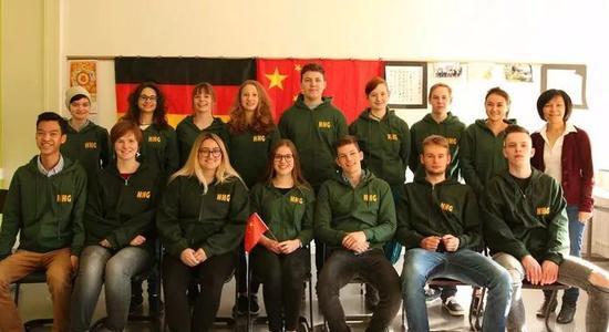 德国掀起汉语热 学生:学汉语是为拿到一块招牌