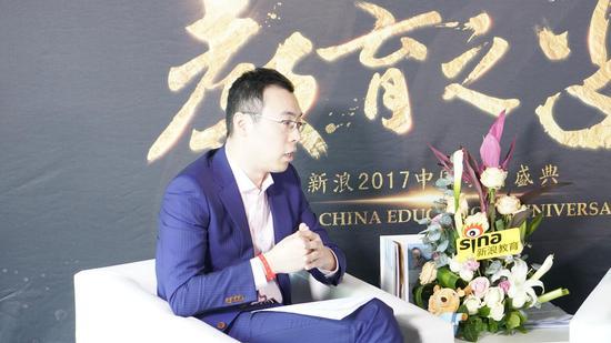 2017新浪教育盛典访谈:Enwise教育姜晨