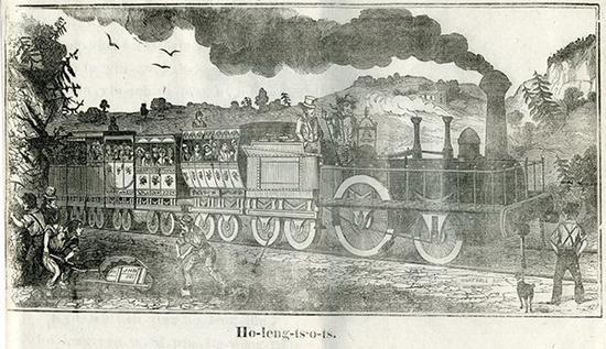 《地理书》火车轮子