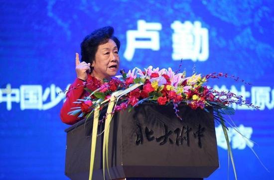 中国少年儿童新闻出版总社原总编辑、首席家庭教育专家卢勤
