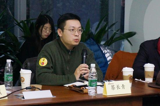 名师屋时尚艺术教育联合创始人 蔡长青