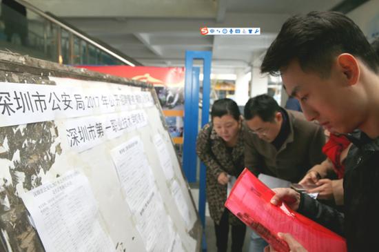 深圳公安首次辅警招考:录取比例1:6.7 邀人大等监督