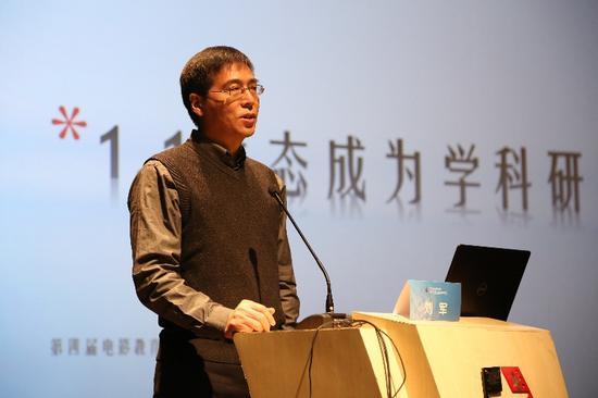 北京电影学院中国电影教育研究中心主任刘军