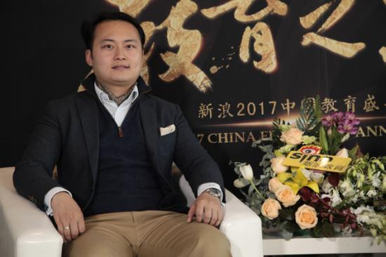 阿卡索外教网董事长兼CEO王志彬先生