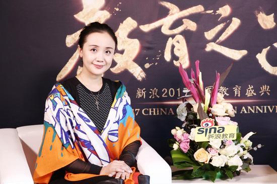 贝乐教育集团CEO冯菲