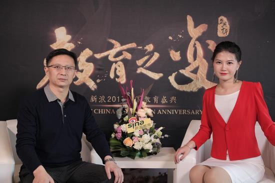 公选王教育董事长 夏晓华