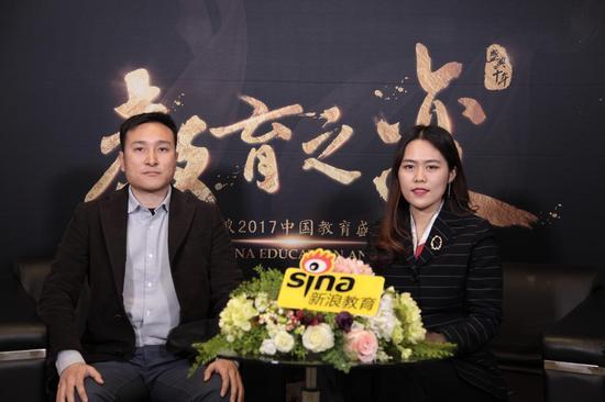考满分联合创始人兼总经理 赵必鹏