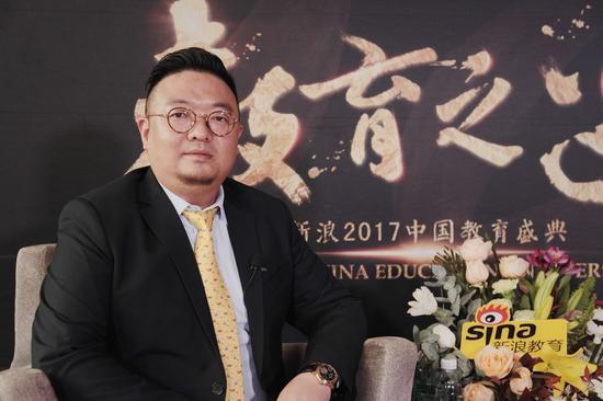 五星教育首席执行官 张骁骏