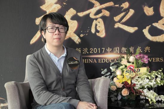 流利说联合创始人、首席科学家林晖