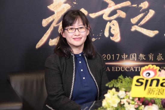 北京寓乐世界教育科技有限公司(寓乐湾)副总裁何莞怡