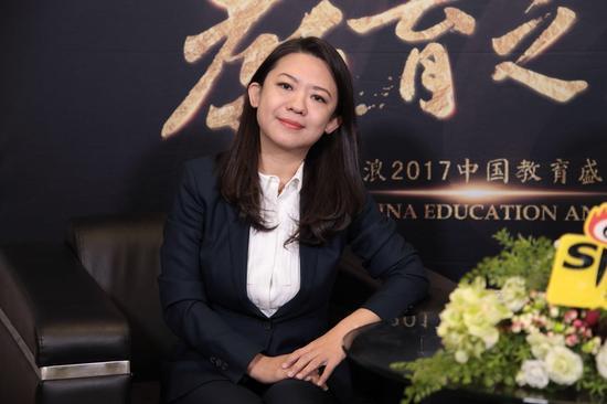 卡巴青少儿科技教育总经理田晓娜