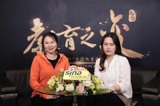 Cinostar新诺国际少儿英语CEO欧阳丽娟