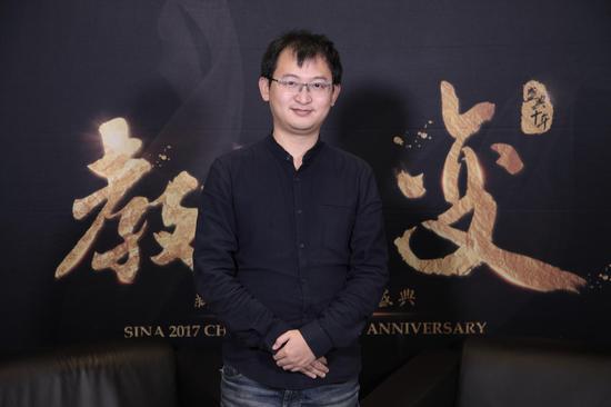 2017新浪教育盛典访谈:东方优播CEO朱宇