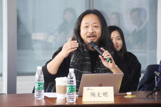 上海艺术合子美术学校 校长陶文明