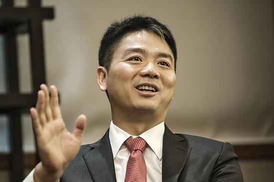 刘强东。视觉中国 资料图