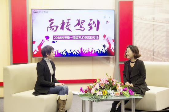 新浪教育专访中国传媒大学招办主任侯隽