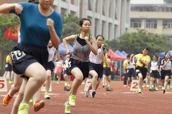 """深圳体育中考继续采用""""1+1""""方式"""