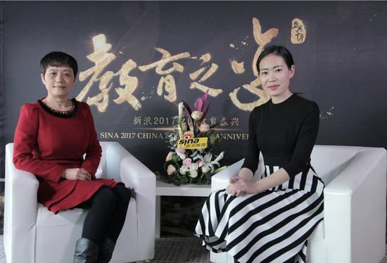 2017新浪教育盛典访谈:东方之星赵静