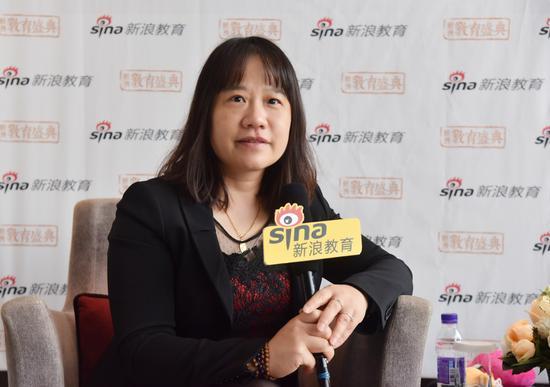 峰越教育创始人、CEO 李锦