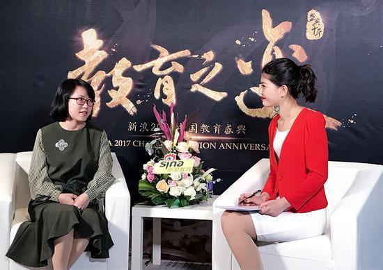 晓教育集团品牌中心负责人 林少英