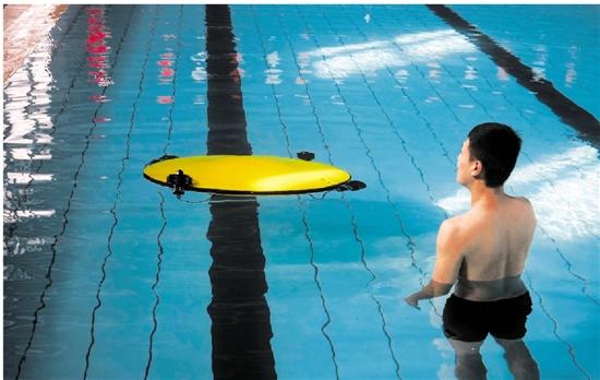 浙江大学牵头的水下直升机萌萌的像飞碟