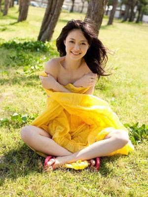 日本嫩模逢泽莉娜清新夏日写真