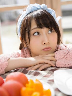 日本少女偶像松井玲奈家居写真