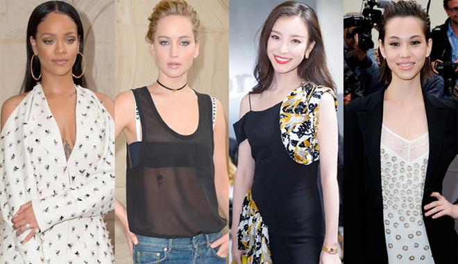 女神ICON齐聚巴黎 见证Dior新设计师首秀