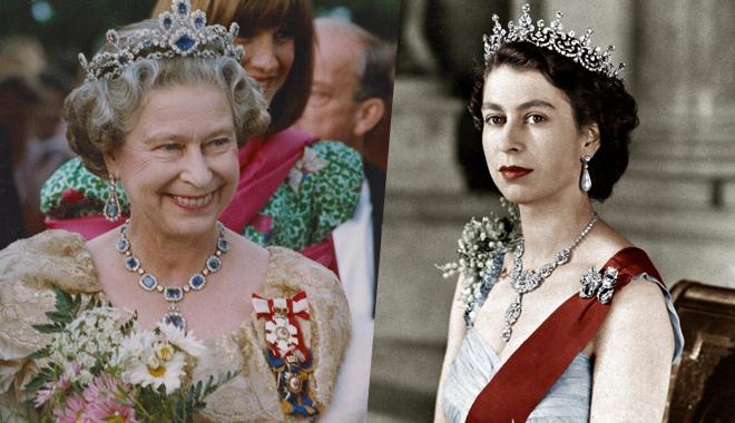 91岁的英国女王穿了65年过膝裙