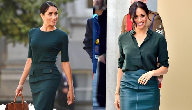 春夏就买梅根王妃同款半裙 怎么穿都美