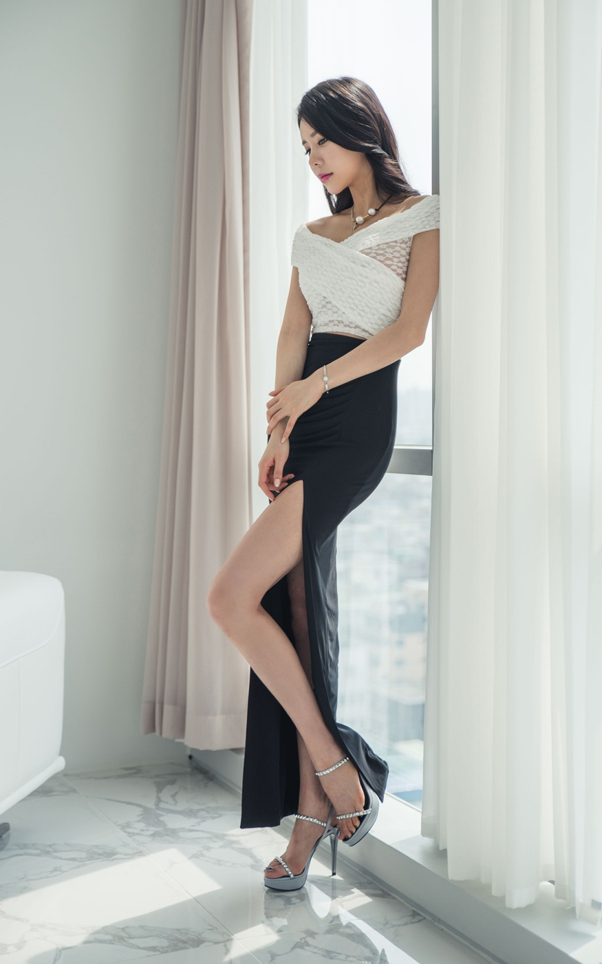 高跟美腿美女,逆天大长腿