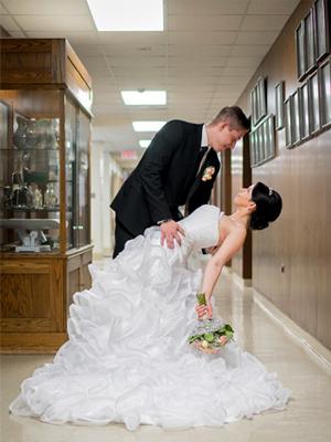 医院办婚礼画面催泪
